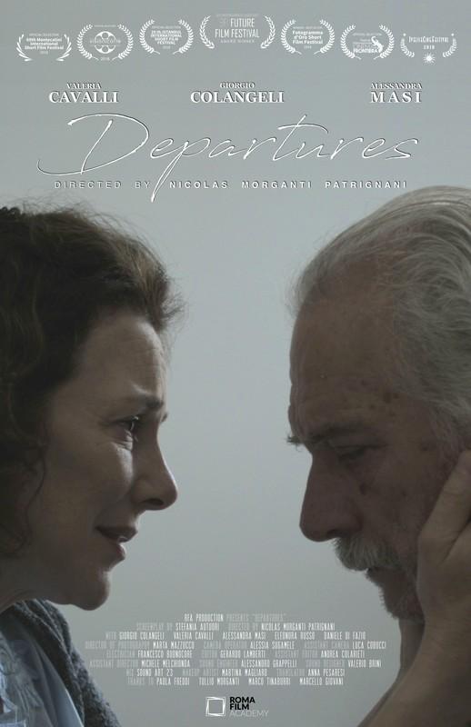 Departures ITA-poster