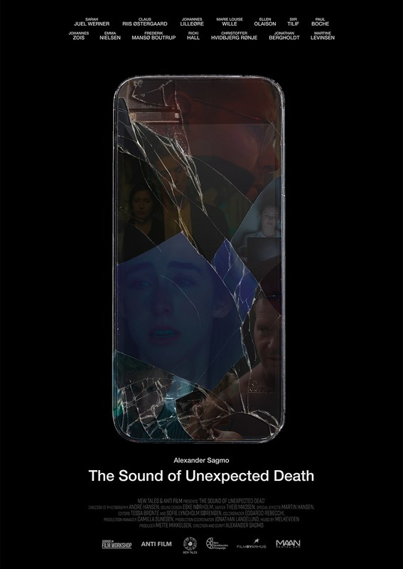THE SOUND OF UNEXPECTED DEATH -poster