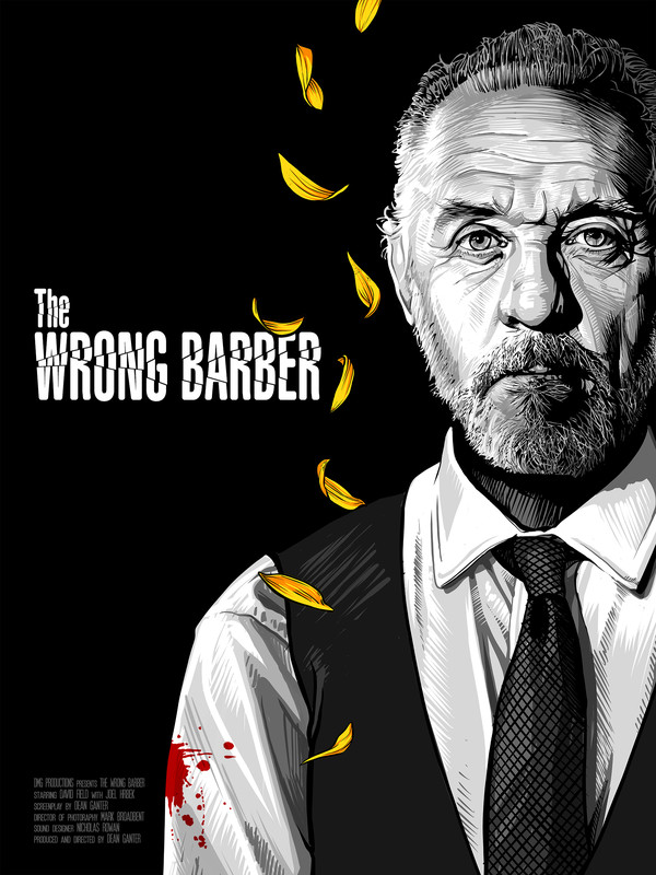The Wrong Barber-poster