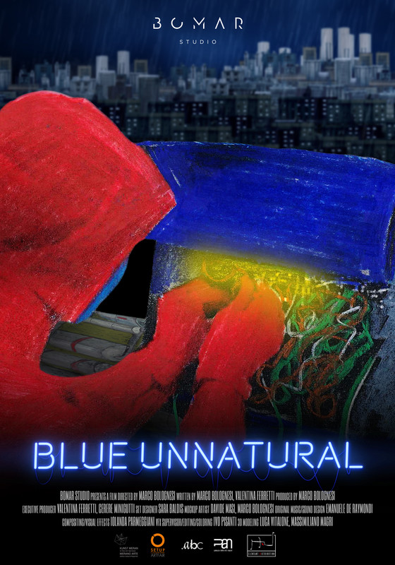 Blue Unnatural-poster